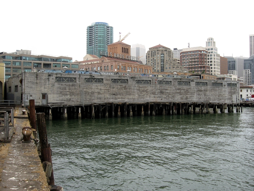 Pier 24, Before Construction